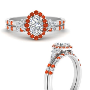 oval-halo-edwardian-diamond-wedding-ring-and-band-with-orange-topaz-in-FDENS3234OVGPOTOANGLE3-NL-WG