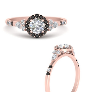 round-halo-edwardian-engagement-ring-with-black-diamond-in-FDENS3234RORGBLACKANGLE3-NL-RG