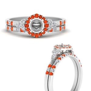 semi-mount-halo-edwardian-diamond-wedding-ring-and-band-with-orange-topaz-in-FDENS3234SMGPOTOANGLE3-NL-WG