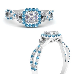 floral-split-shank-asscher-cut-halo-engagement-ring-with-blue-topaz-in-FDENS3303ASRGICBLTOANGLE3-NL-WG