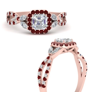 floral-halo-twisted-asscher-cut-diamond-engagement-ring-with-ruby-in-FDENS3303ASRGRUDRANGLE3-NL-RG