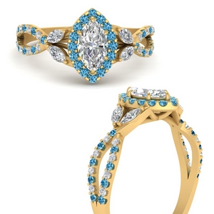 floral-split-shank-marquise-cut-halo-engagement-ring-with-blue-topaz-in-FDENS3303MQRGICBLTOANGLE3-NL-YG