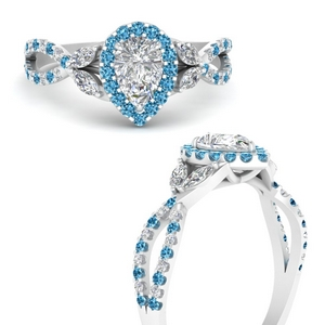 floral-halo-twisted-pear-shaped-diamond-engagement-ring-with-blue-topaz-in-FDENS3303PERGICBLTOANGLE3-NL-WG