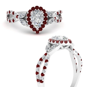 floral-halo-twisted-pear-shaped-diamond-engagement-ring-with-ruby-in-FDENS3303PERGRUDRANGLE3-NL-WG