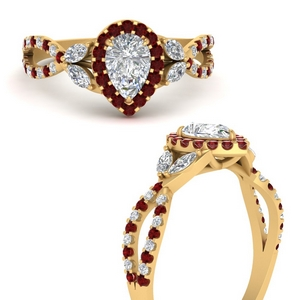 floral-halo-twisted-pear-shaped-diamond-engagement-ring-with-ruby-in-FDENS3303PERGRUDRANGLE3-NL-YG