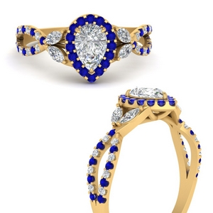 floral-halo-twisted-pear-shaped-diamond-engagement-ring-with-sapphire-in-FDENS3303PERGSABLANGLE3-NL-YG