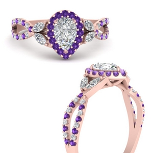 floral-halo-twisted-pear-shaped-diamond-engagement-ring-with-purple-topaz-in-FDENS3303PERGVITOANGLE3-NL-RG