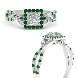 floral-split-shank-princess-cut-halo-engagement-ring-with-emerald-in-FDENS3303PRRGEMGRANGLE3-NL-WG