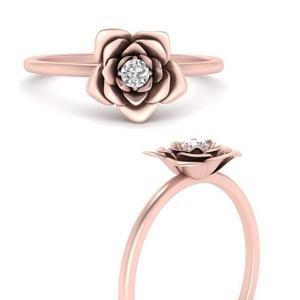 Flower Lab Diamond Ring