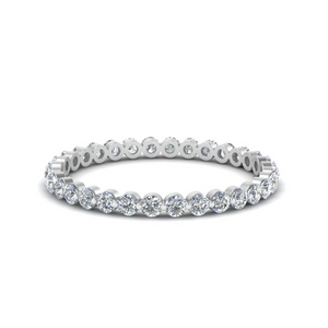 Common Prong Diamond Band