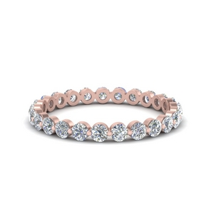 Shared Prong Diamond Eternity Ring