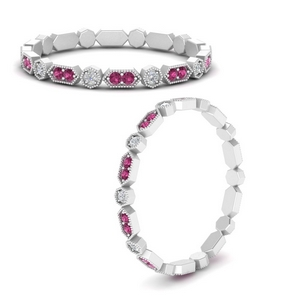 art-deco-thin-stacking-diamond-eternity-band-with-pink-sapphire-in-FDEWB9594GSADRPIANGLE3-NL-WG