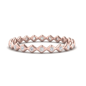 Diamond Stacking Eternity Band