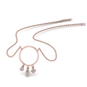 circle-dangling-bezel-diamond-necklace-in-FDPD382-NL-RG