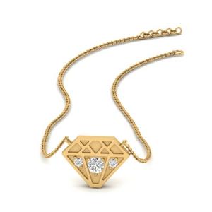 Diamond Shape Pendant