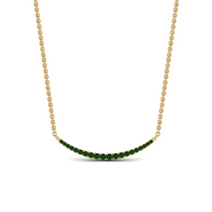Cute Smile Emerald Pendant