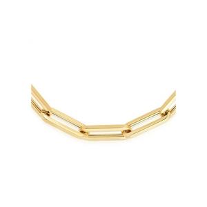 Delicate Paper Clip Necklace