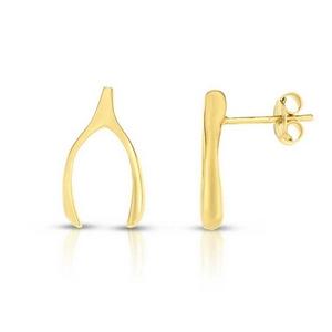 Wish Bone Earrings