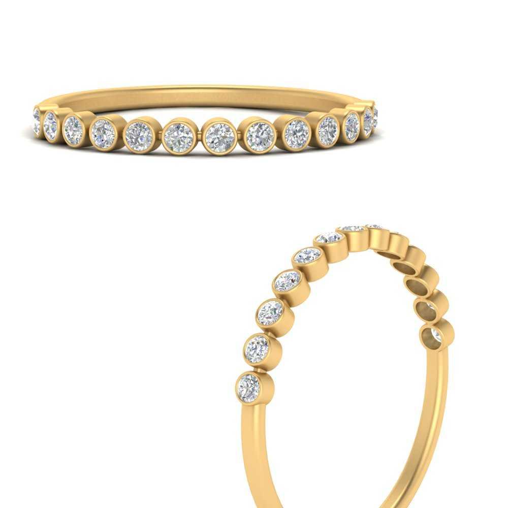 bezel-set-round-diamond-wedding-band-in-FD122968BANGLE3-NL-YG