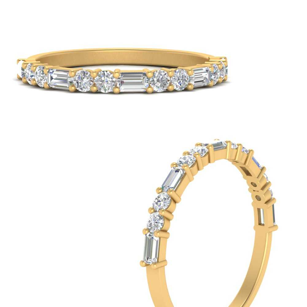 baguette-and-round-diamond-thin-stack-wedding-band-in-FD123092BANGLE3-NL-YG