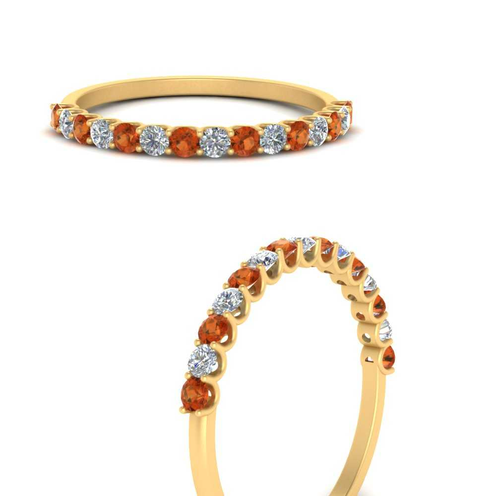 u-prong-thin-round-orange-sapphire-wedding-band-in-FD9125GSAORANGLE3-NL-YG