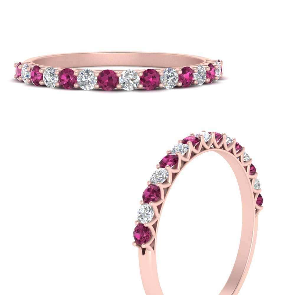 0.50-carat-u-prong-diamond-wedding-ring-with-pink-sapphire-in-FDWB660GSADRPIANGLE3-NL-RG