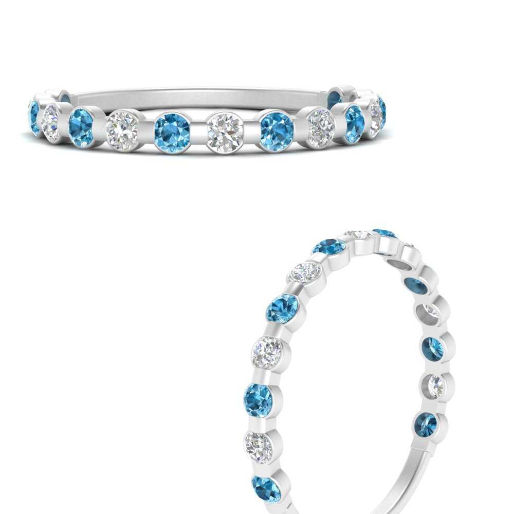 delicate-floating-diamond-wedding-band-with-blue-topaz-in-FDENS3137BGICBLTO-ANGLE3-NL-WG