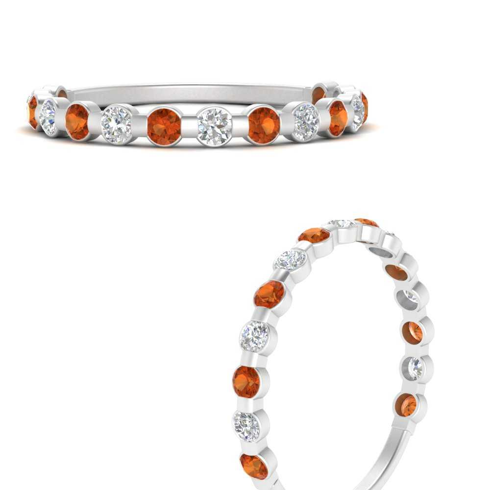 delicate-floating-diamond-wedding-band-with-orange-sapphire-in-FDENS3137BGSAOR-ANGLE3-NL-WG