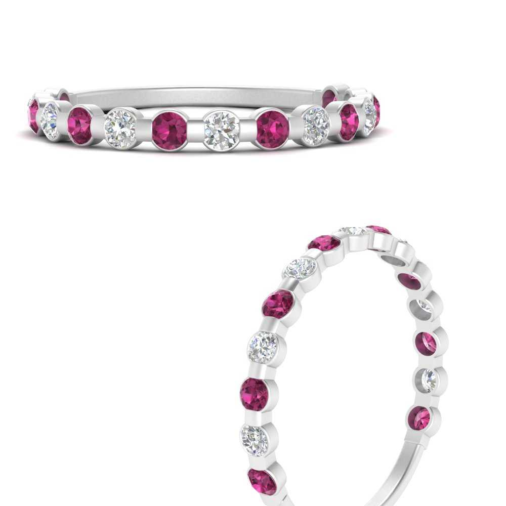delicate-floating-diamond-wedding-band-with-pink-sapphire-in-FDENS3137BGSADRPI-ANGLE3-NL-WG