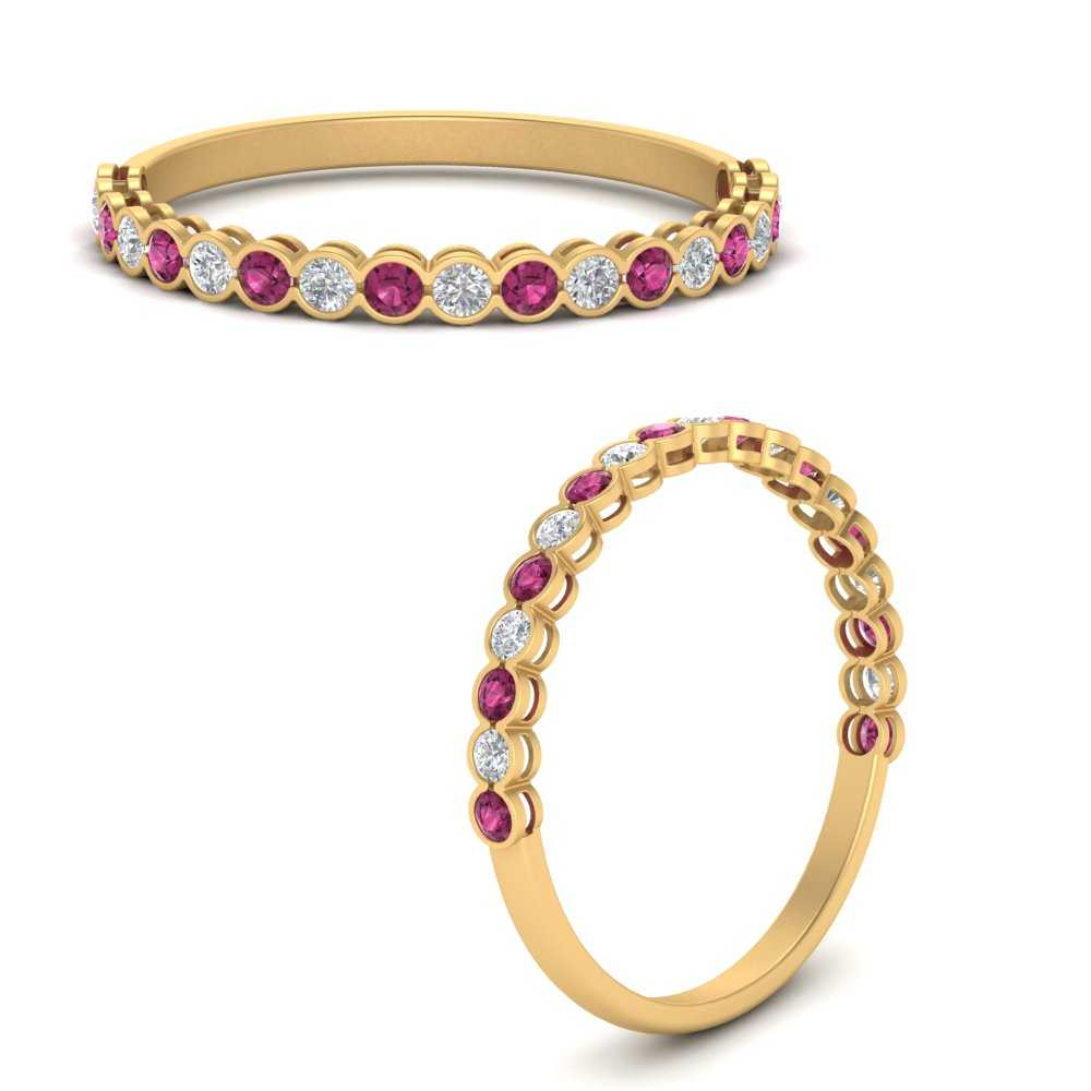 channel-set-round-anniversary-diamond-band-with-pink-sapphire-in-FD68970BBGSADRPIANGLE3-NL-YG
