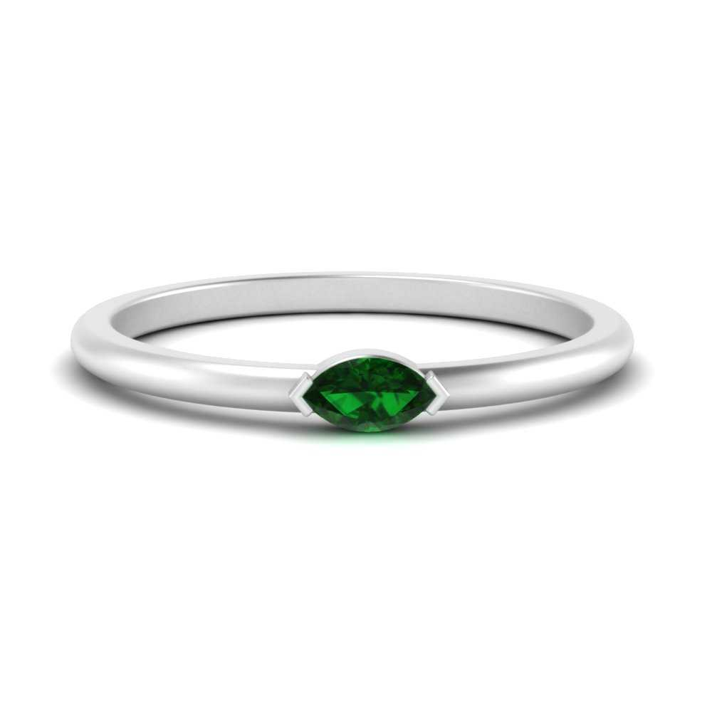 east-west-marquise-emerald-stacking-ring-in-FD124565MQRGEMGR-NL-WG