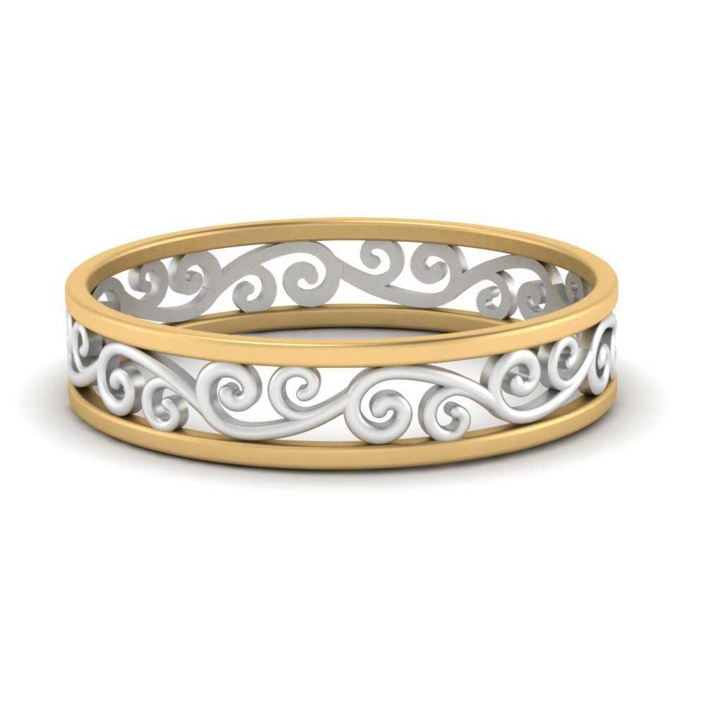 2-tone-filigree-wedding-band-in-FD50060B-NL-YG