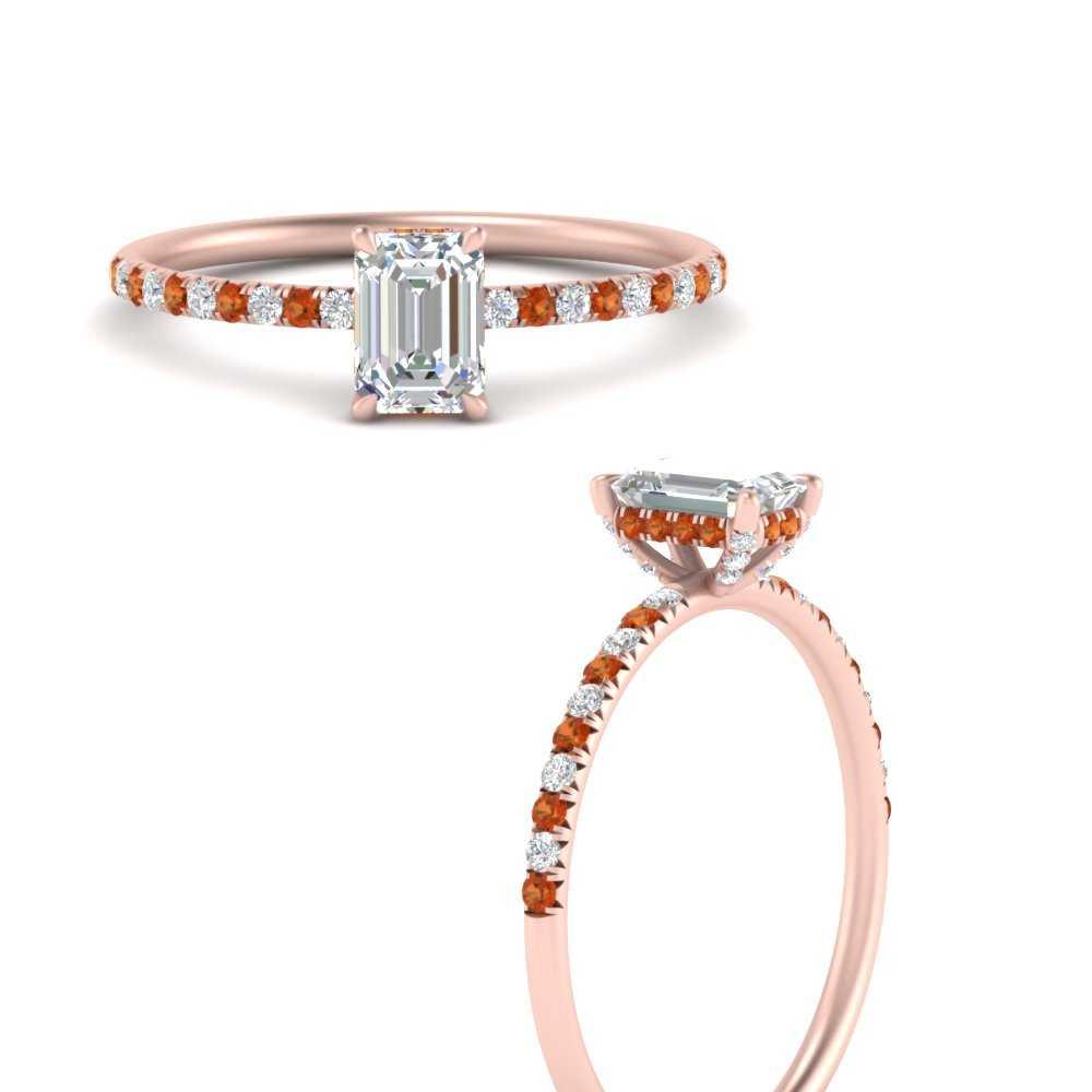 emerald-cut-petite-pave-diamond-engagement-ring-with-orange-sapphire-in-FD8523EMRGSAORANGLE3-NL-RG