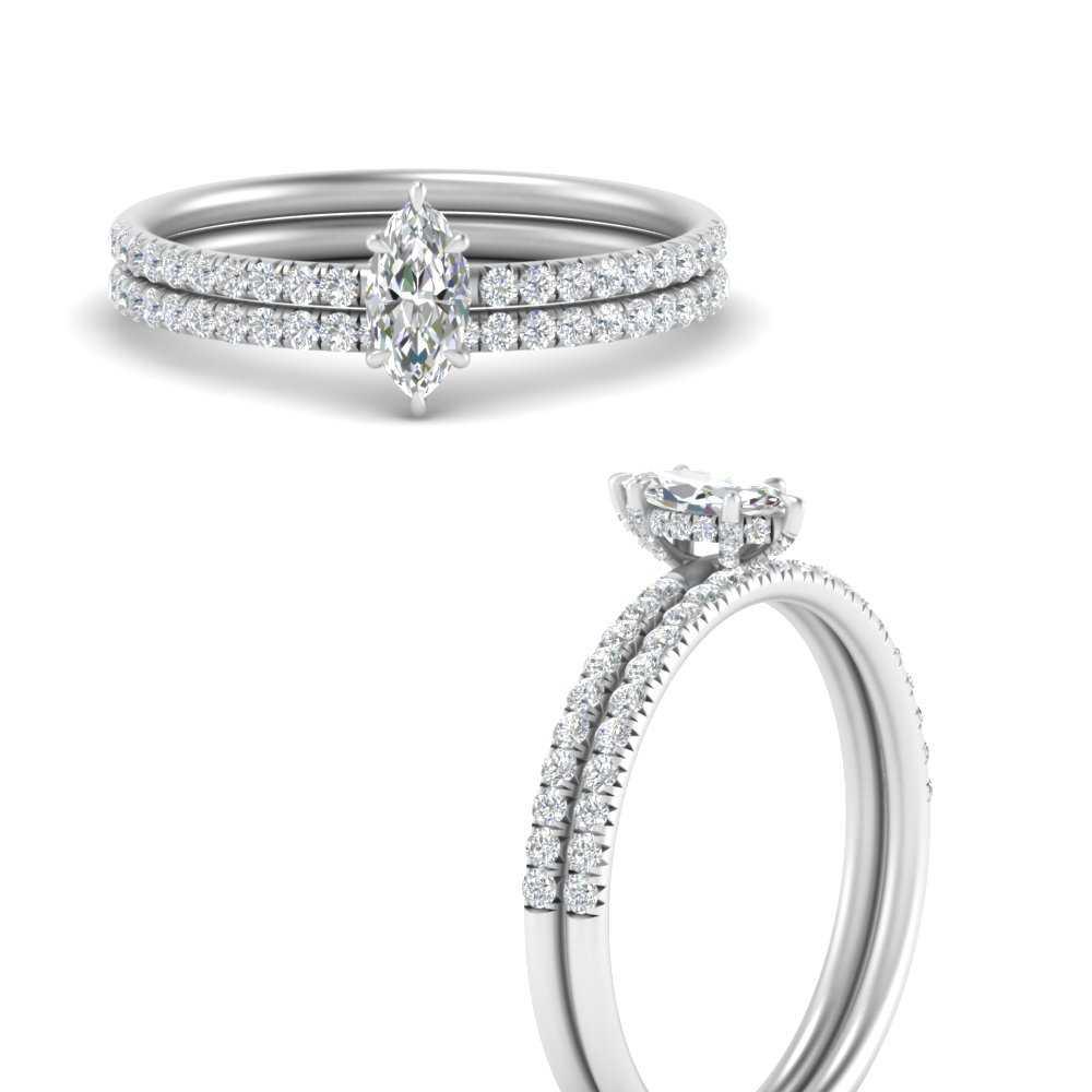 marquise-hidden-halo-diamond-wedding-ring-set-in-FD8523MQANGLE3-NL-WG