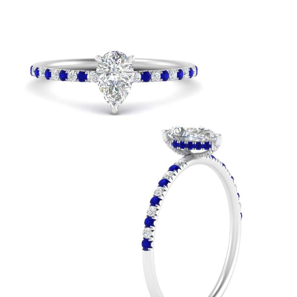 petite-pear-shape-hidden-halo-diamond-engagement-ring-with-sapphire-in-FD8523PERGSABLANGLE3-NL-WG