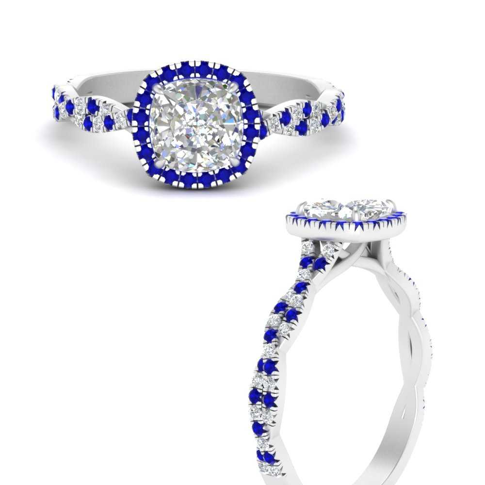 infinity-cushion-halo-diamond-engagement-ring-with-sapphire-in-FD9140CURGSABLANGLE3-NL-WG