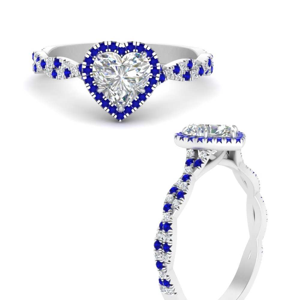 twisted-heart-shaped-sapphire-halo-lab diamond engagement-ring-in-FD9140HTRGSABLANGLE3-NL-WG