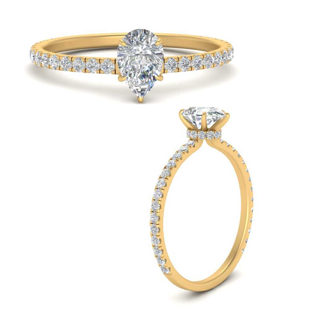 three-fourth-under-halo-pear-shaped-diamond-engagement-ring-in-FD9168PERANGLE3-NL-YG