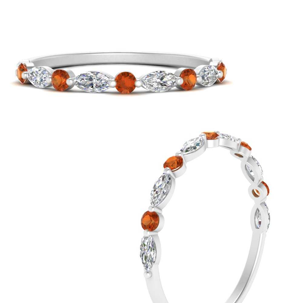 marquise-round-orange-sapphire-common-prong-thin-wedding-band-in-FD9403BGSAORANGLE3-NL-WG