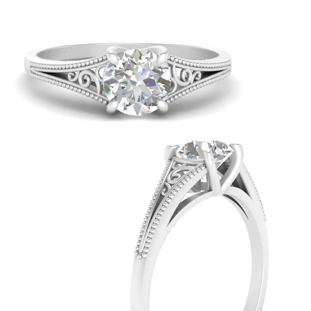 antique-split-shank-filigree-solitaire-lab diamond engagement-ring-in-FD69827RORANGLE3-NL-WG