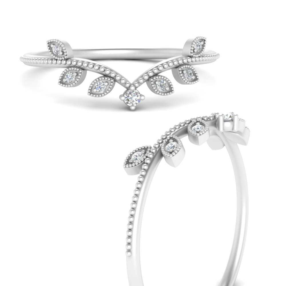 crown-vintage-delicate-diamond-wedding-band-in-FD9564BANGLE3-NL-WG