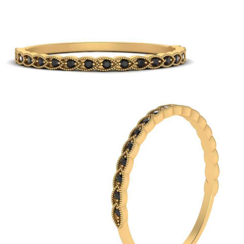 thin-floral-stacking-black-diamond-band-in-FD9567B2GBLACKANGLE3-NL-YG-GS