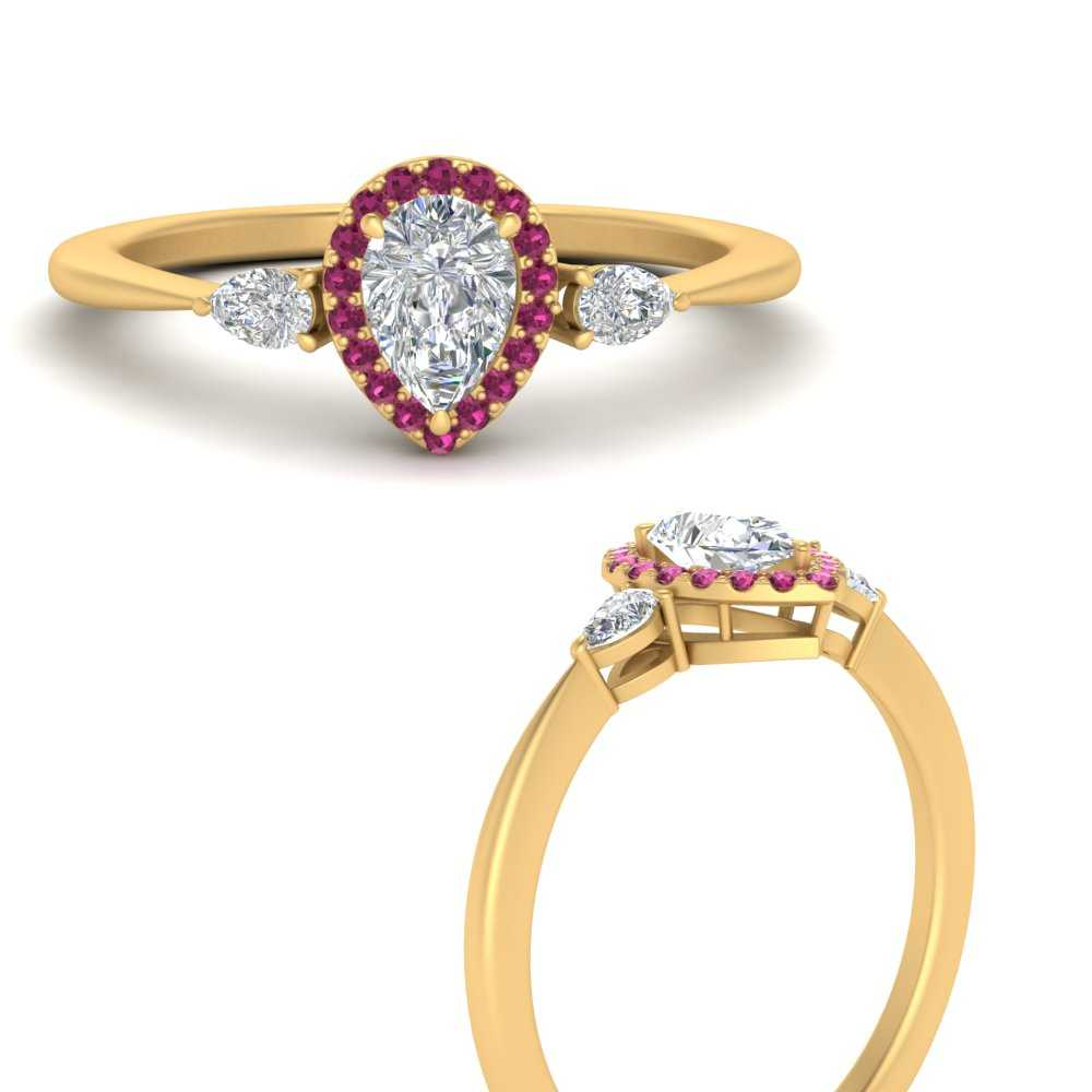 3-stone-pear-accents-pear-shaped-halo-diamond-engagement-ring-with-pink-sapphire-in-FD9570PERGSADRPIANGLE3-NL-YG