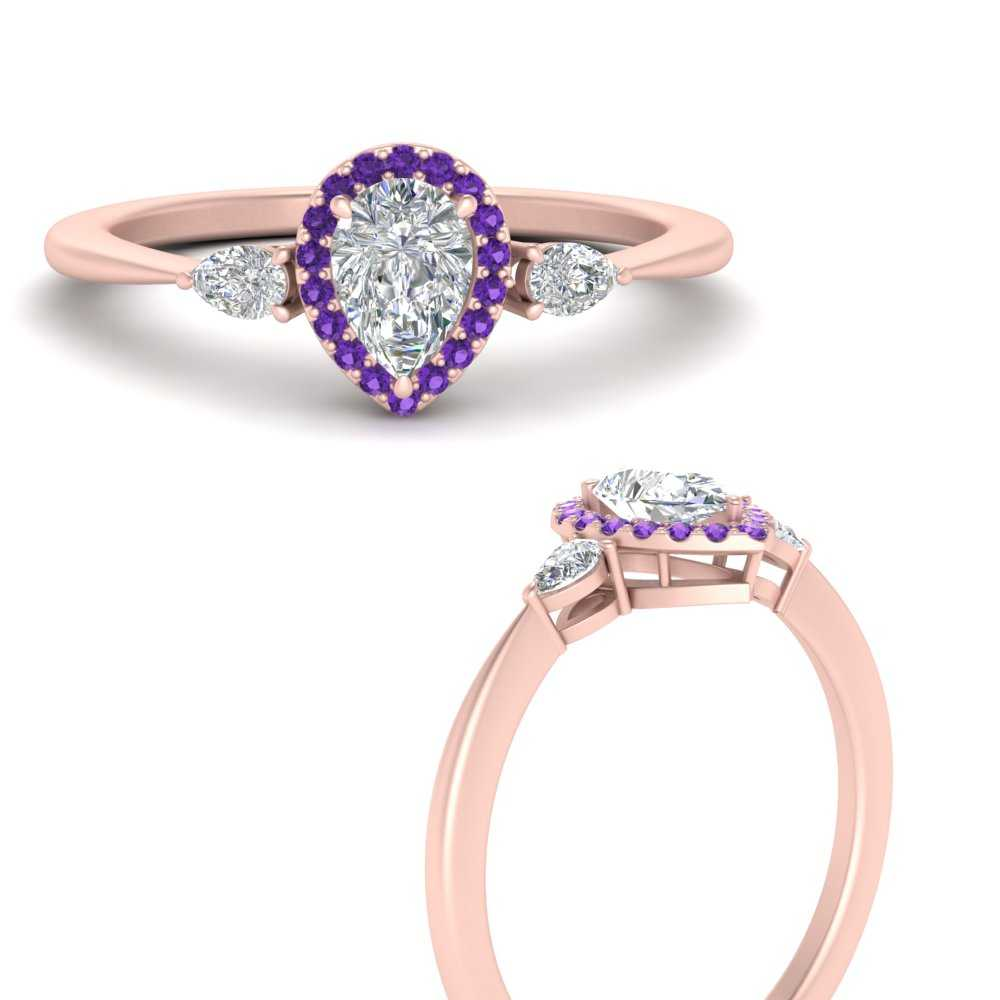 3-stone-pear-accents-pear-shaped-halo-diamond-engagement-ring-with-purple-topaz-in-FD9570PERGVITOANGLE3-NL-RG