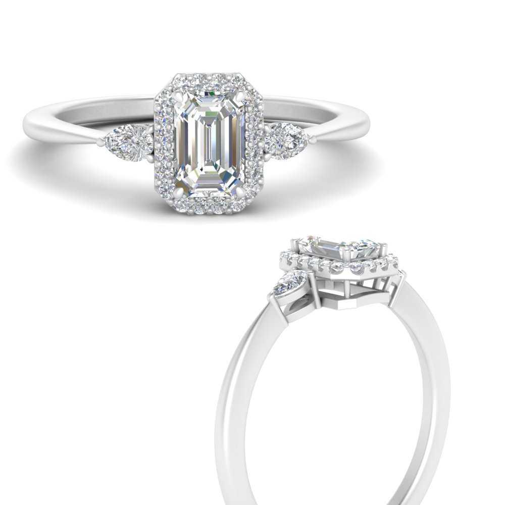 three-stone-halo-emerald-cut-diamond-engagement-ring-in-FD9570EMRANGLE3-NL-WG
