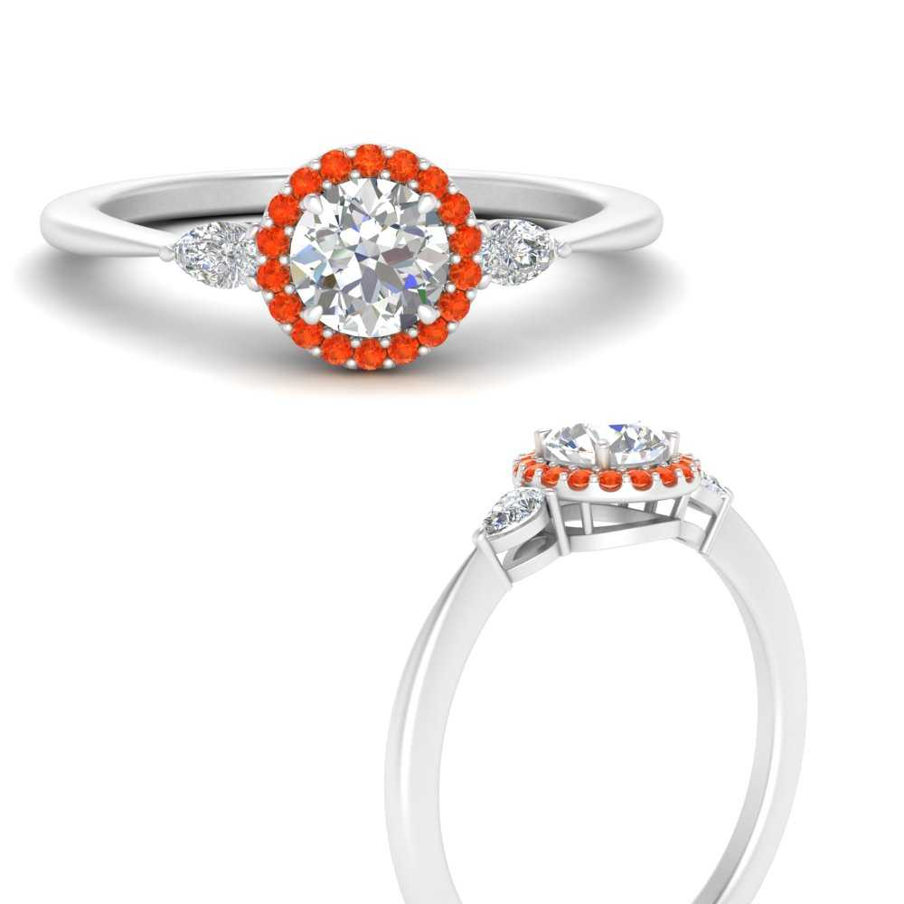 three-stone-halo-round-cut-diamond-engagement-ring-with-orange-topaz-in-FD9570RORGPOTOANGLE3-NL-WG