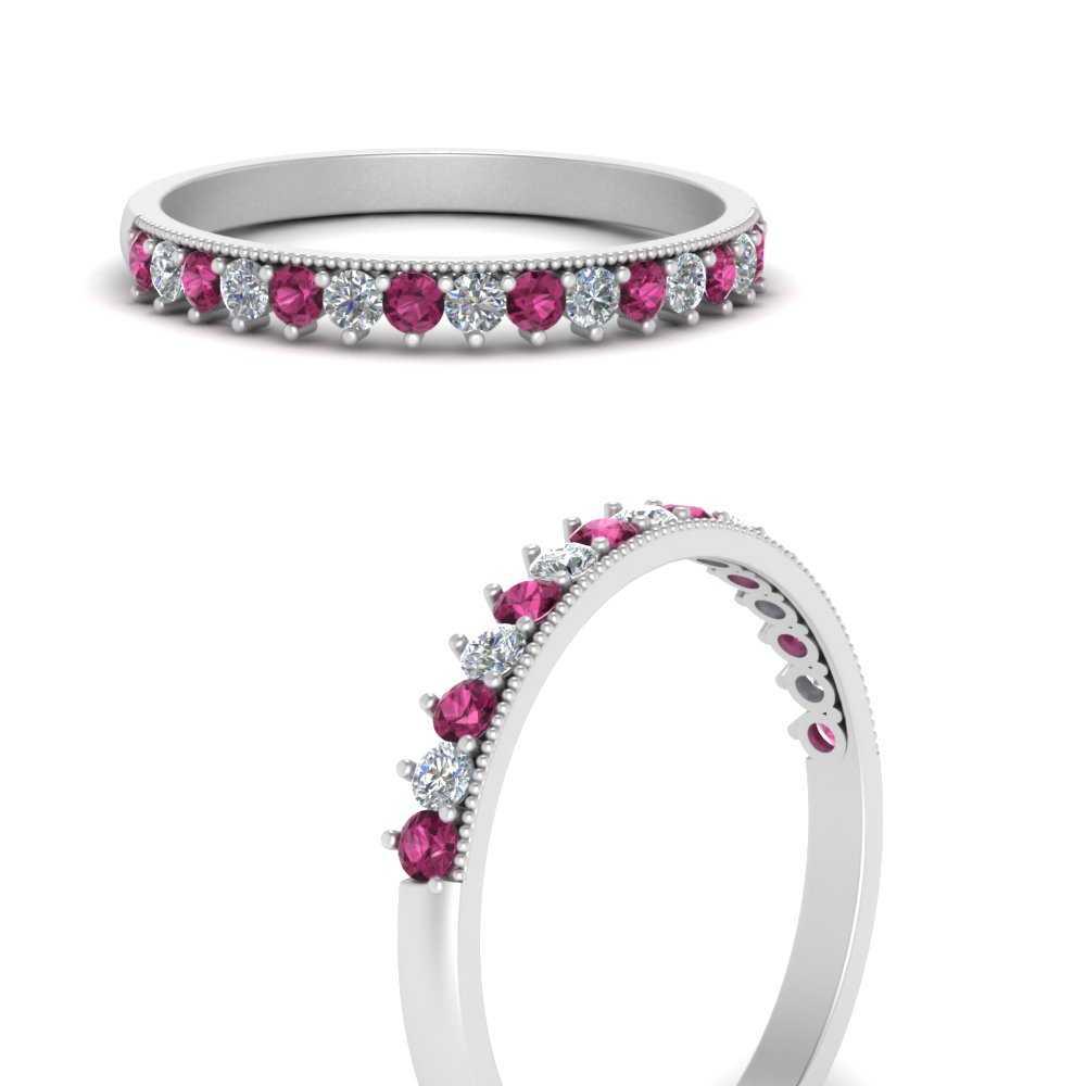 milgrain-diamond-round-wedding-band-with-pink-sapphire-in-FD9574BGSADRPIANGLE3-NL-WG