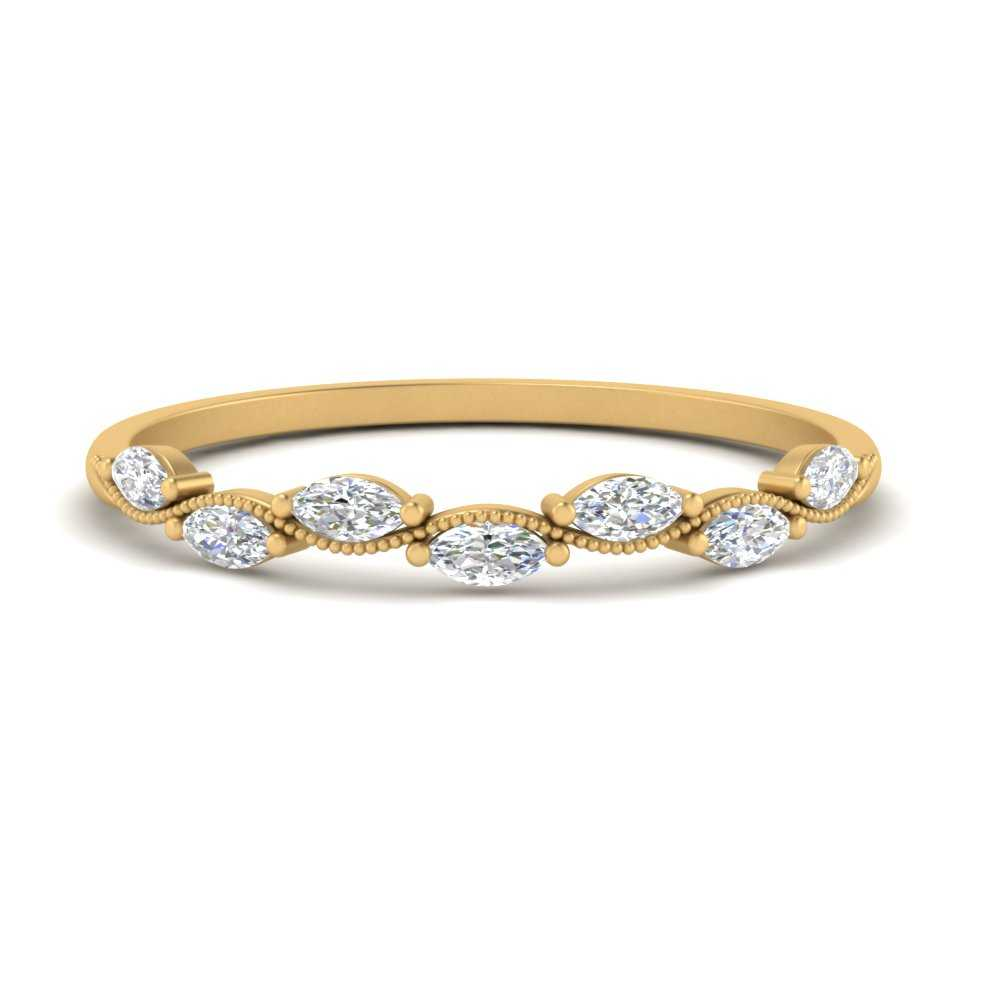 Marquise Vintage Stacking Ring
