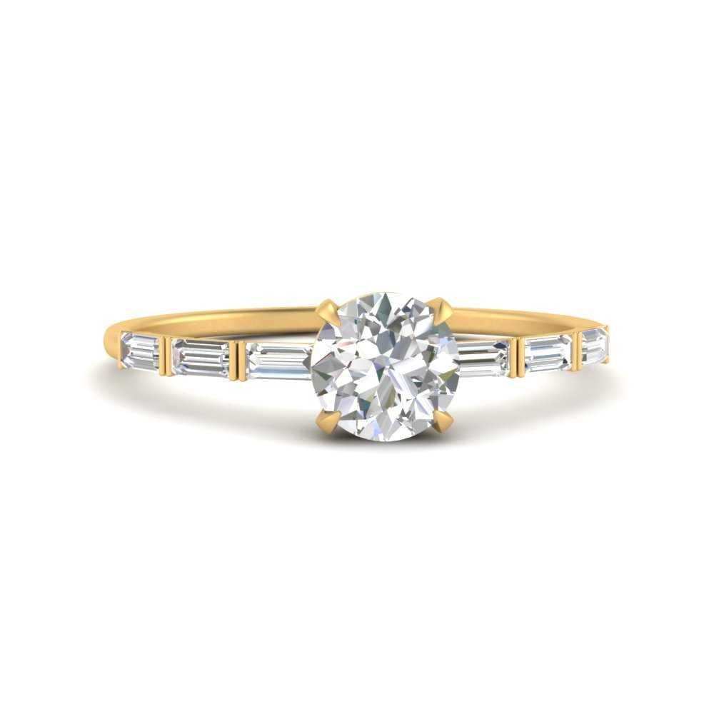bar-set-baguette-thin-round-cut-engagement-ring-in-FD9579ROR-NL-YG