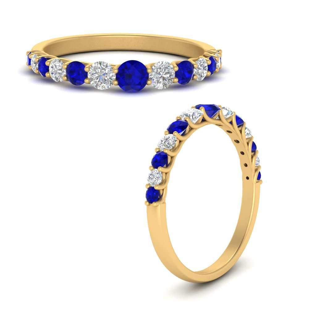 shared-prong-graduated-diamond-women-wedding-band-with-sapphire-in-FD9581GSABLANGLE3-NL-YG